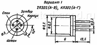 Транзистор кп302 схема