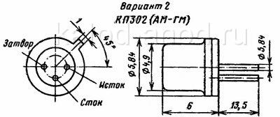 Транзистор КП302БМ — характеристики, параметры, аналоги ...