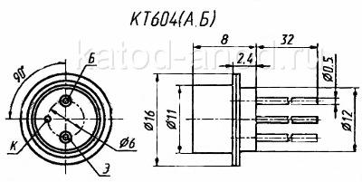 Транзистор КТ604