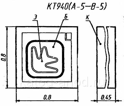 Транзистор КТ940-5