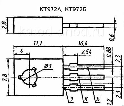 Транзистор КТ972